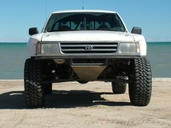 Curtis Guise's 1995 Toyota T100   Off Road Action - Vintage