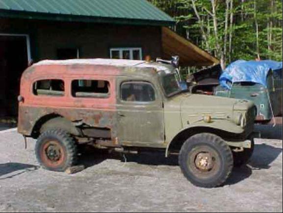 Dodge Power Wagon Carryall Restoration
