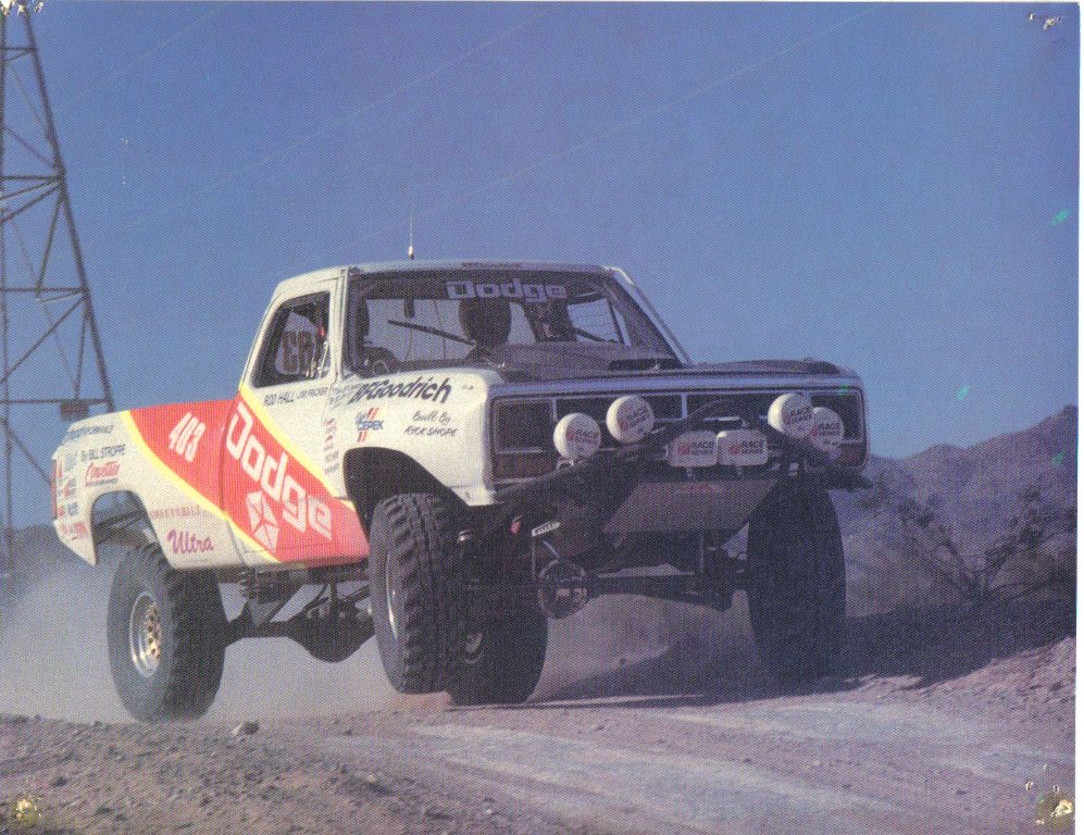 D1 Dodge Desert Off Road Race Trucks