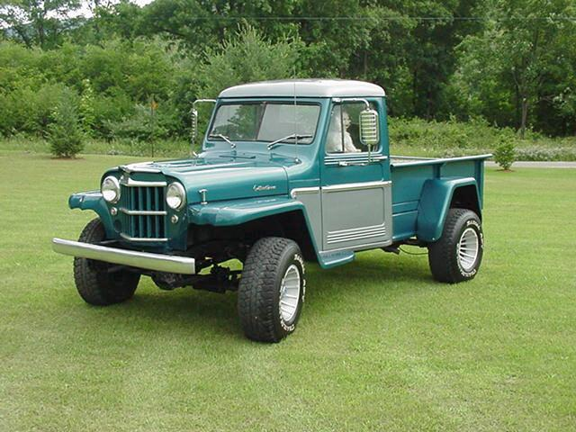Rick Grover's Willys Jeep Truck Website