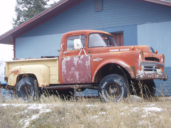 23 Random Old Dodge Power Wagon Photos