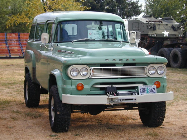 49 Random Old Dodge Power Wagon Photos