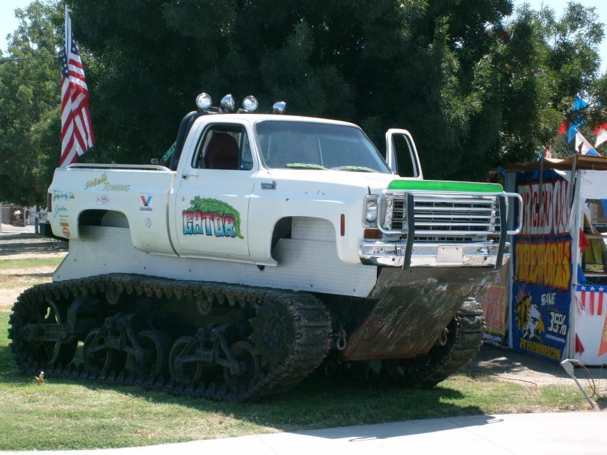 Where Are The Tank Track Monster Trucks