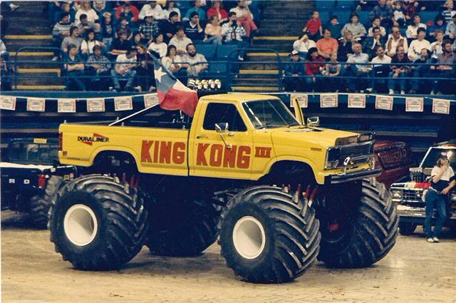 Old School King Kong Monster Truck Photo