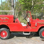 jeep cj6 fire truck