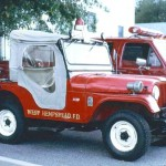 jeep cj5 fire truck