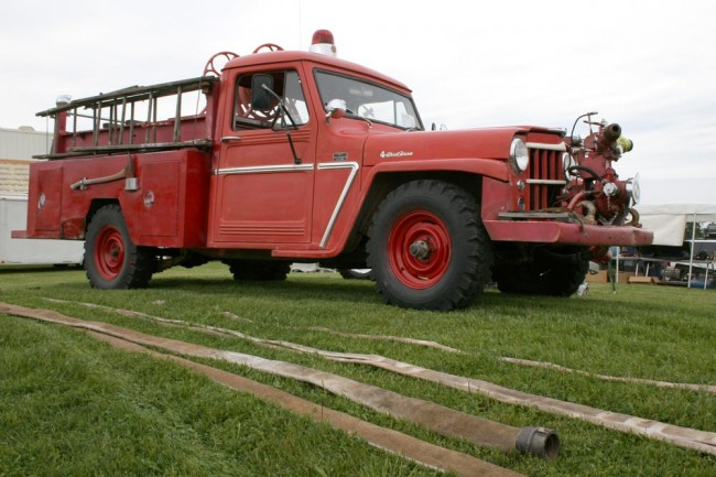 willys fire truck