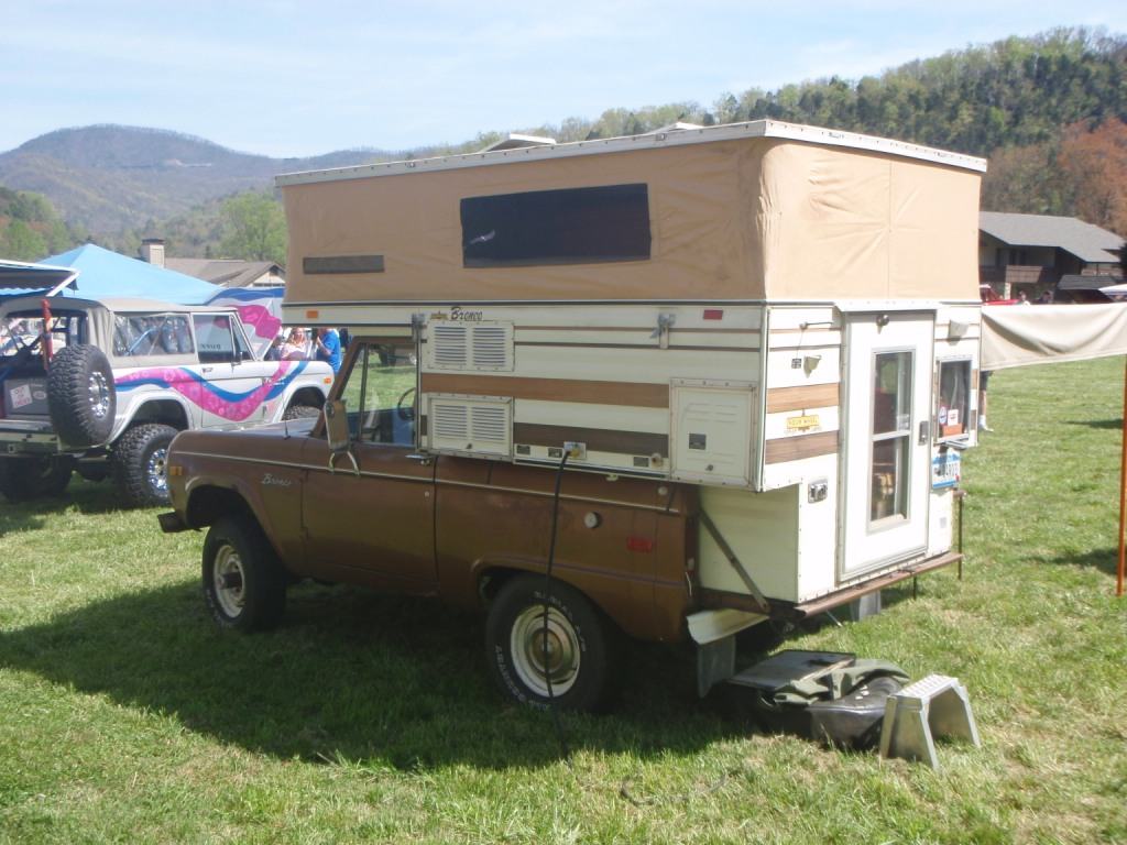 about Ford Bronco Campers,