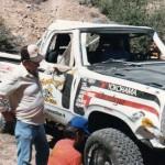 dodge vorra desert race rollover