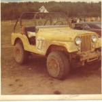 jeep cj5 off road race