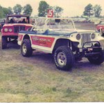 jeep jeepster off road race