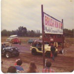 brush run off road race jeep