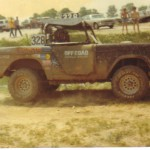 off road race bronco