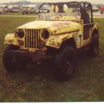 off road race jeep cj-5