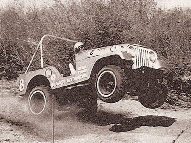 jeep, cj-5, desert race, 70's, off road race
