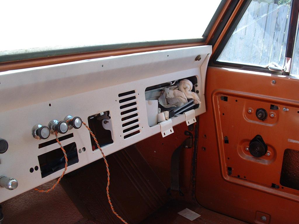 Early Bronco Camper For Sale 1980 Ford Dash