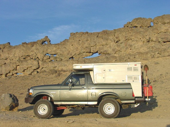 bronco camper, camperized bronco