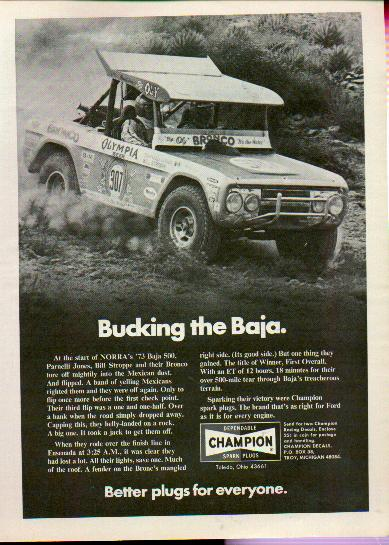 Post image for 70's Ford Bronco Advertising