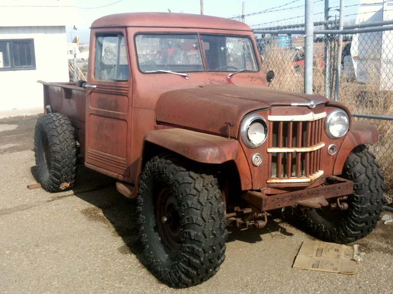 vintage pickup truck jeep jeepster willys parts