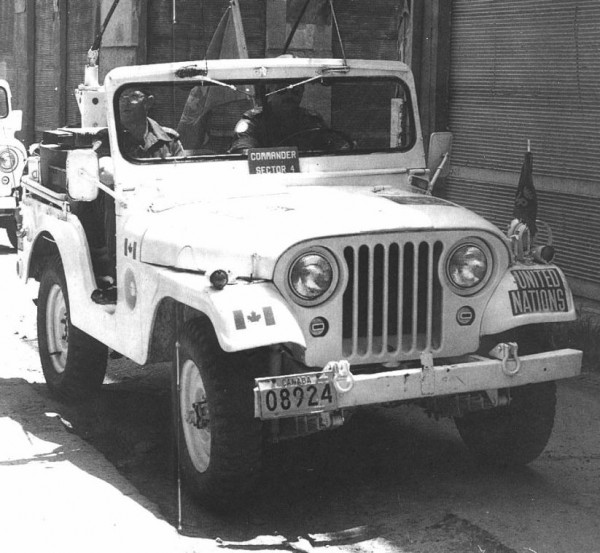 m38a1, canadian military, un jeep, united nations jeep,