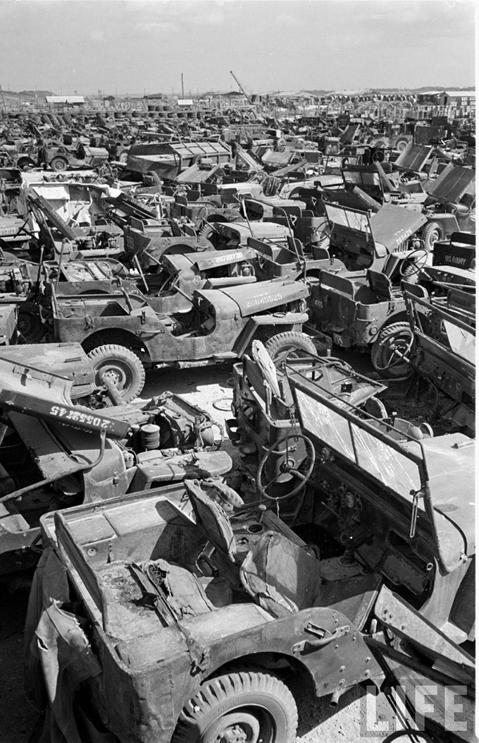 Salvage Jeeps Willys Military Jeep Graveyard
