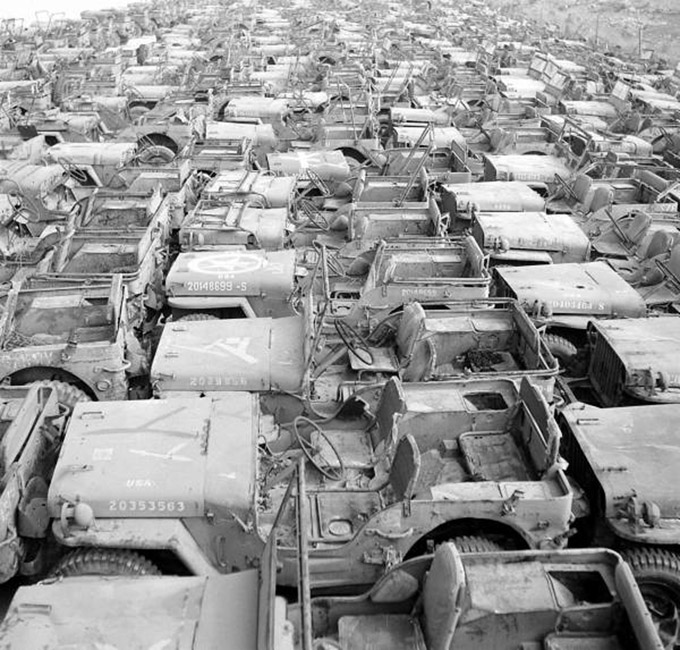 Military Jeeps Willys Ford And Hotchkiss For Sale >> Willys Military Jeep Graveyard