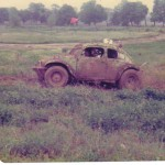off road race vw baja bug