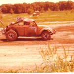 off road race baja bug vw