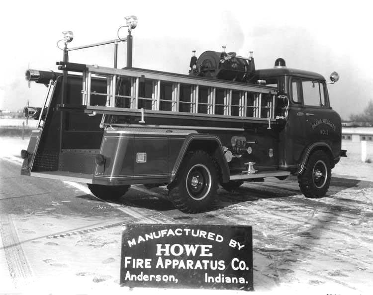 jeep fire, fire truck