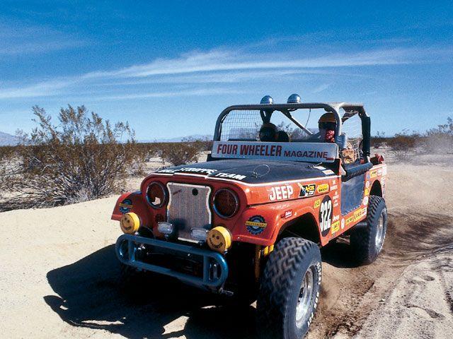 desert race, race jeep