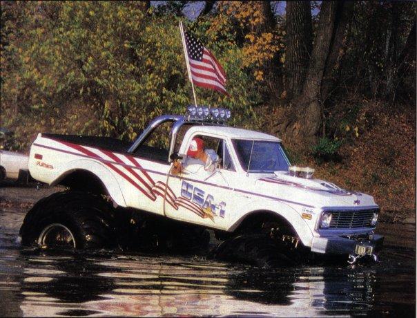 Vintage USA-1 Monster Truck Photos