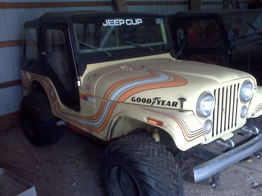 IMG00557 Barn Find Rare 1973 Jeep CJ 5 Super Jeep For Sale