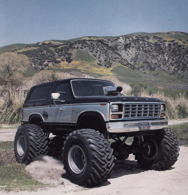 Do you remember the desert beast ford bronco monster truck whatever