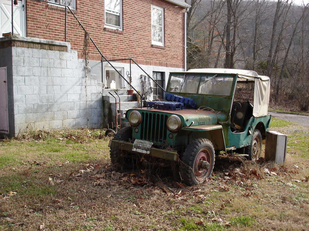 willys jeep, willys cj2a