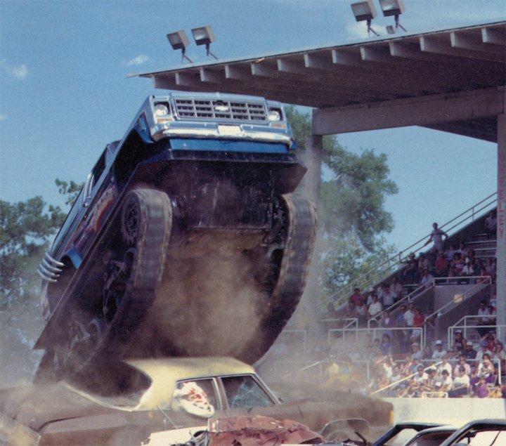 Vintage Virginia Beach Beast Monster Truck Tank Videos!