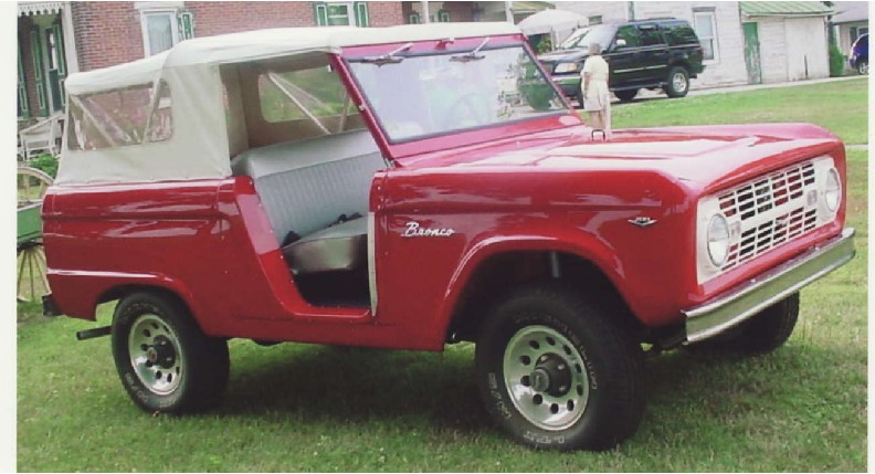 Have You Seen The U13 1966 1968 Ford Bronco Roadster Website