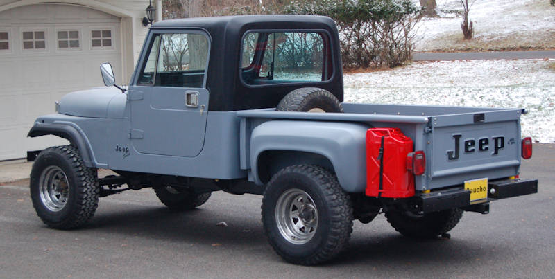 GauchoF2 Gaucho Jeep CJ Stepside Pickup For Sale!