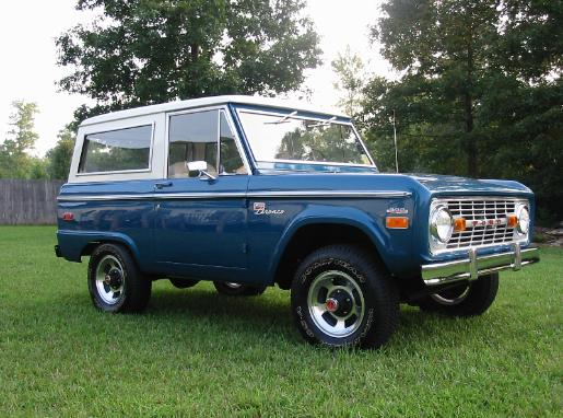 ford bronco, early bronco, bronco for sale