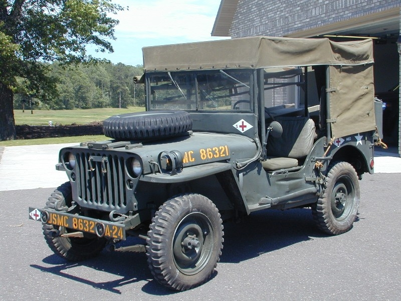 Military Holden Willys MB Ambulance Jeep For Sale