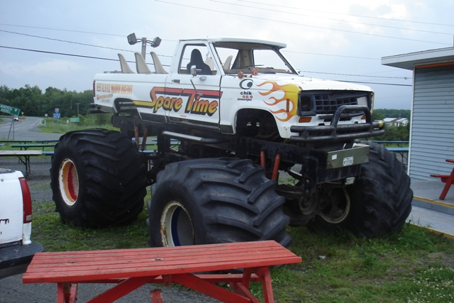 monster truck, spare time