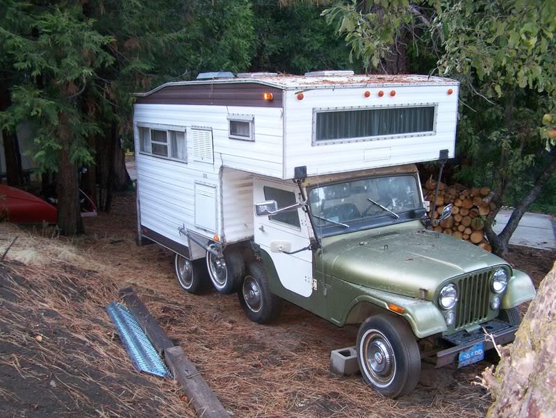 Have You Ever Seen A Jeep Cj 5 Camper