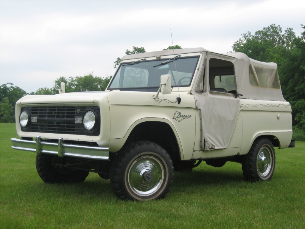ford bronco, early bronco