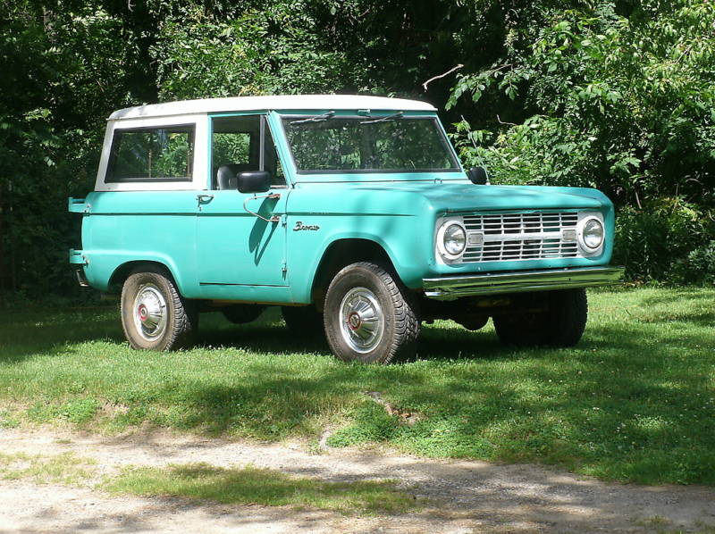 1 Baby Blue 1966 Ford Bronco For Sale