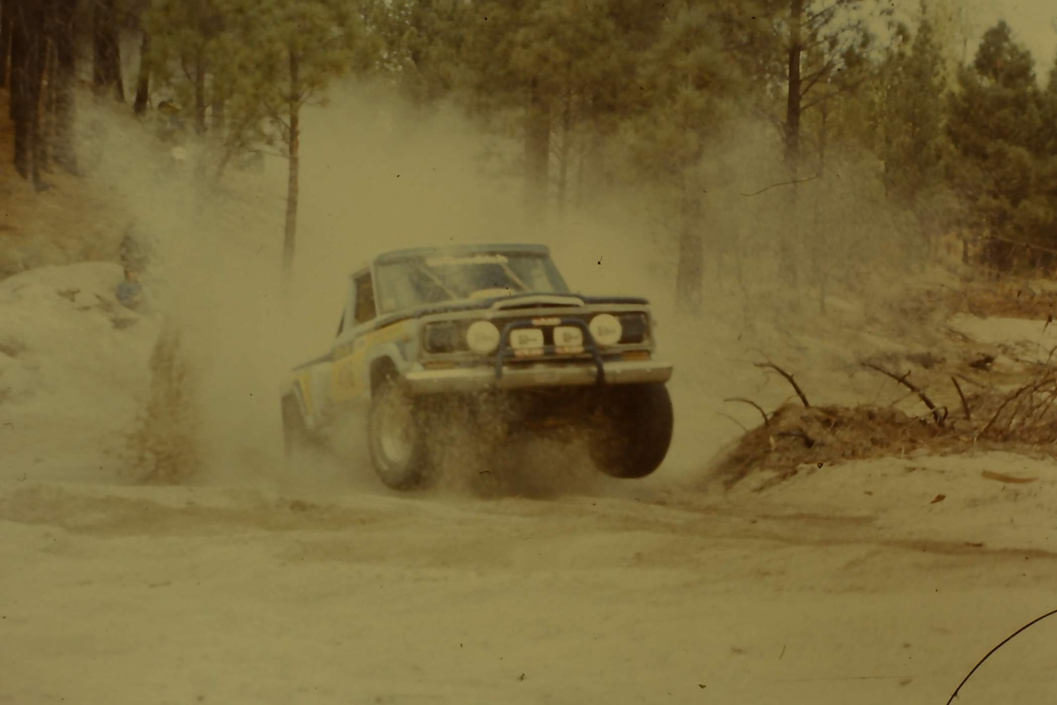 Vintage Jeep Honcho Off Road Race Truck Photos