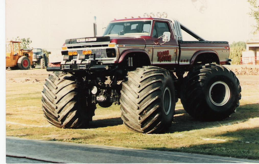 King Kong was one of the original monster trucks, possibly the first ...