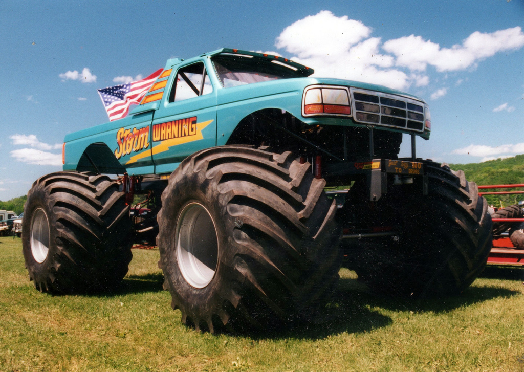 monster truck, storm warning, storm warning monster