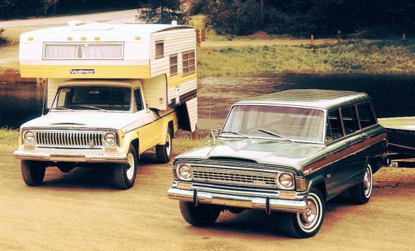 jeep truck, jeep wagoneer