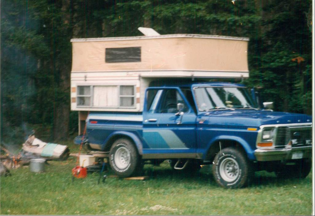 1978 Ford Bronco With Popup Camper For Sale