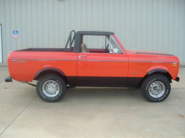international scout, 1974 scout, scout halfcab, scout for sale