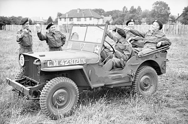 Vintage Wwii Canadian Army Willys Jeep Photos